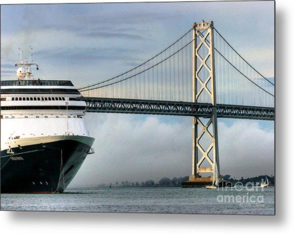 Oakland Bay Bridge  Metal Print