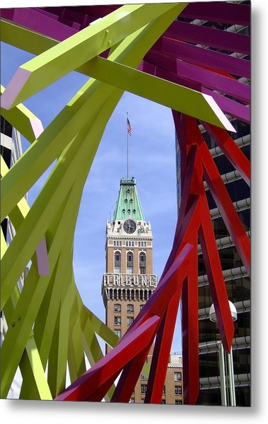 Oakland Tribune Metal Print