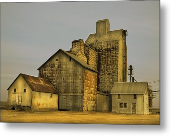 Oakwood Elevator Metal Print