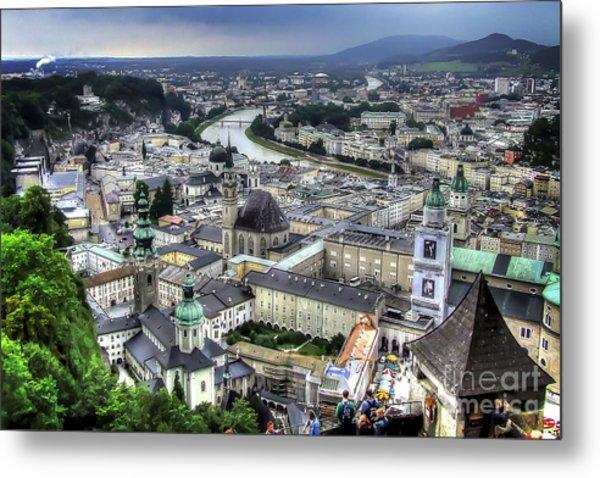 Ober Innsbruck Metal Print