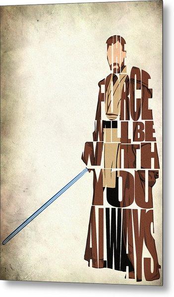 Obi-wan Kenobi - Ewan Mcgregor Metal Print