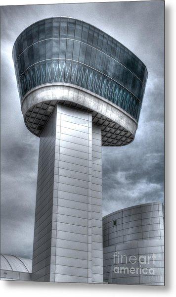 Observation Tower Metal Print