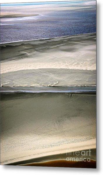 Ocean At Low Tide Metal Print