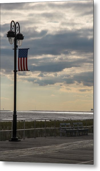 Ocean City New Jersey Boardwalk Metal Print