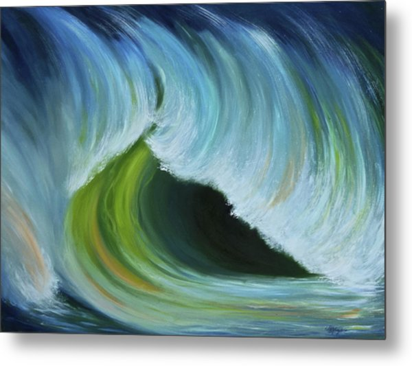 Ocean Emotion #2 Metal Print