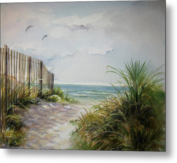 Ocean Isle Beach Sold Metal Print
