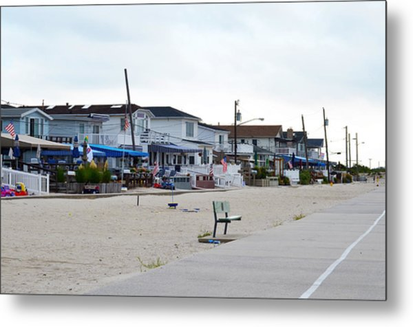 Ocean Promenade Sugar Bowl To Reid Summer 2012 Metal Print