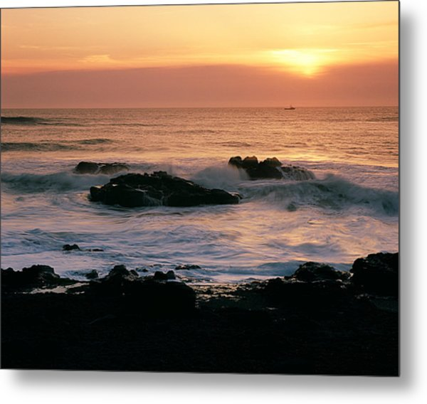 Ocean Tranquility  Metal Print