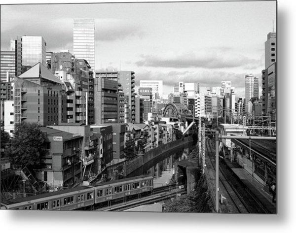 Ochanomizu Metal Print by Photograph By Clinton Watkins, Japan
