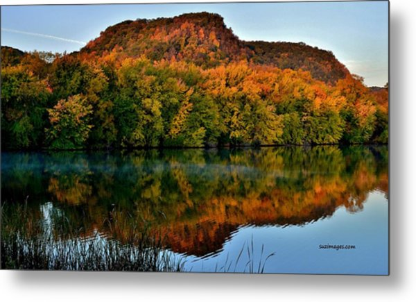 October Bluffs Metal Print