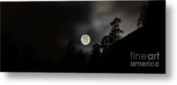October Full Moon II Metal Print by Phil Dionne