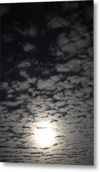October Moon Metal Print