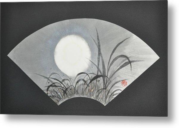October Moonviewing Metal Print