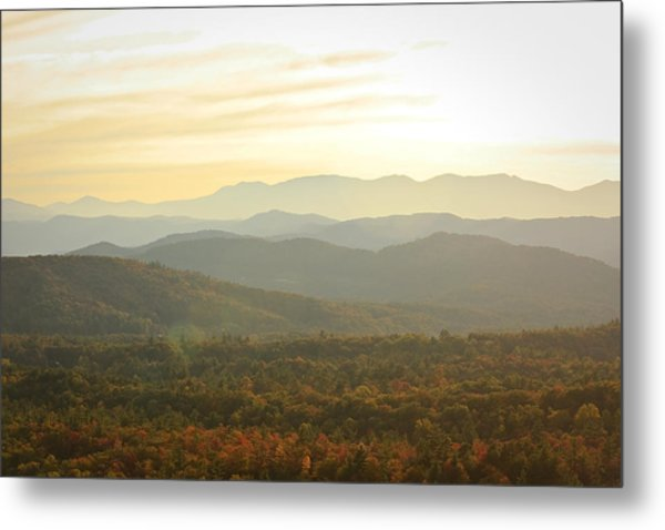 October Mountains Metal Print