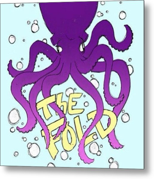 Octopus!!! Drawn As A Concept For Metal Print