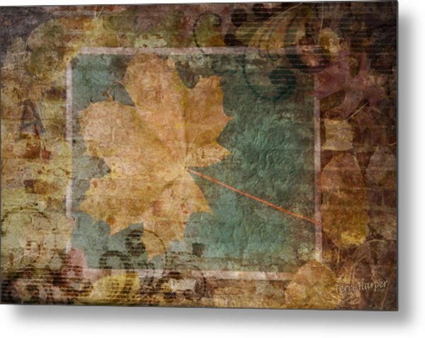 Ode To Autumn Metal Print