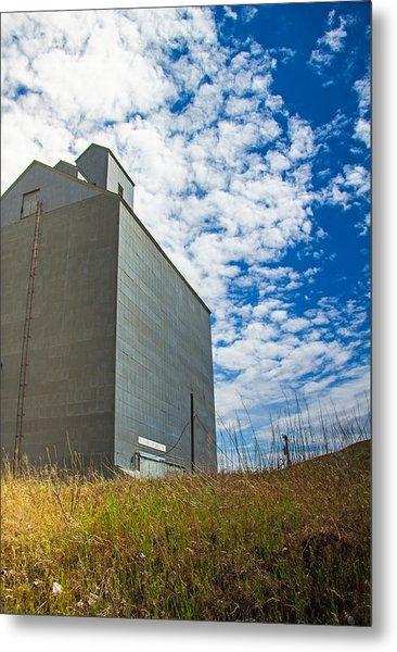 Of Clouds And Grain Metal Print