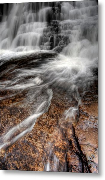 Off And Running Metal Print