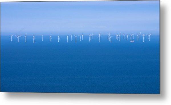 Off-shore Wind Farm Metal Print