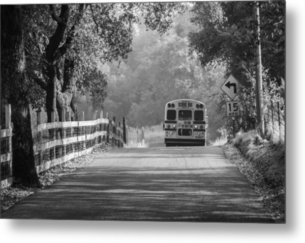 Off To School 2 Metal Print