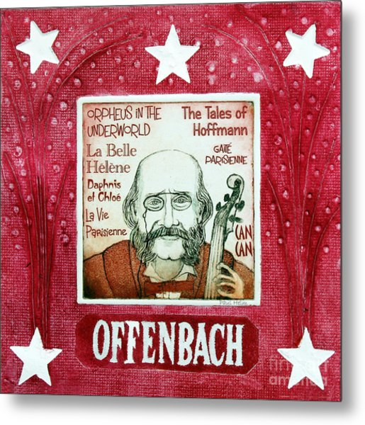Offenbach Metal Print by Paul Helm