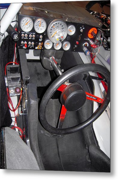 Office For A Race Driver Metal Print