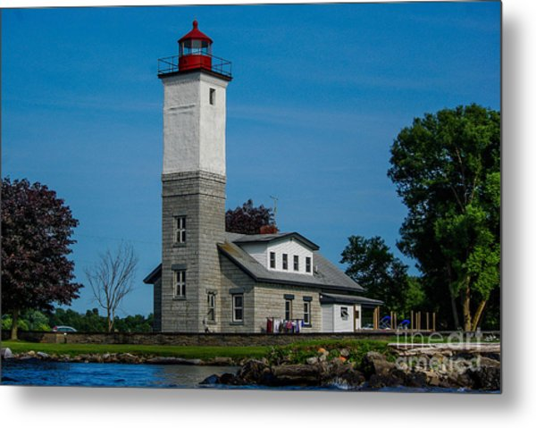 Ogdensburg Light House Metal Print