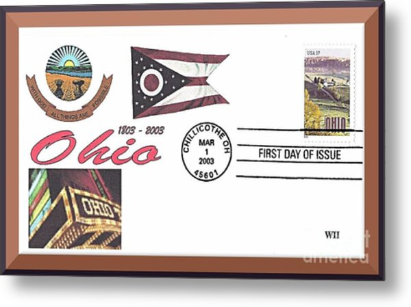 Ohio Bicentennial Cover #2 Metal Print