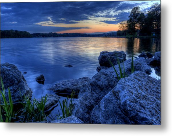 Ohio Spring Sunset Metal Print