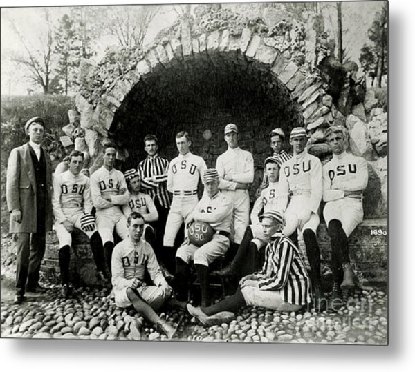 Ohio State Football Circa 1890 Metal Print