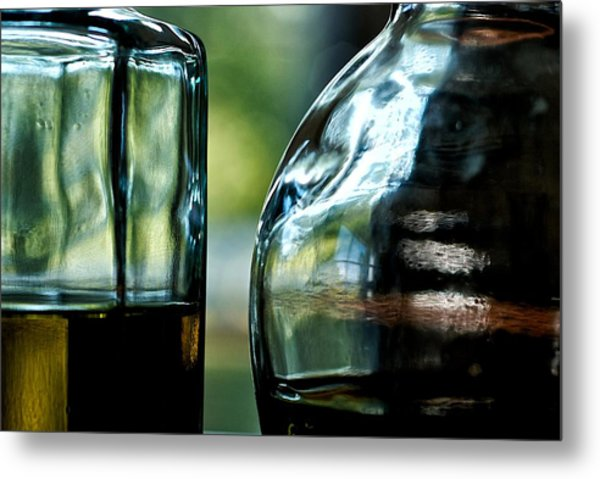 Oil And Vinegar 3 Metal Print by Guillermo Hakim