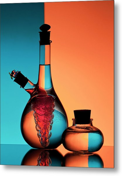Oil And Vinegar Metal Print by Aida Ianeva