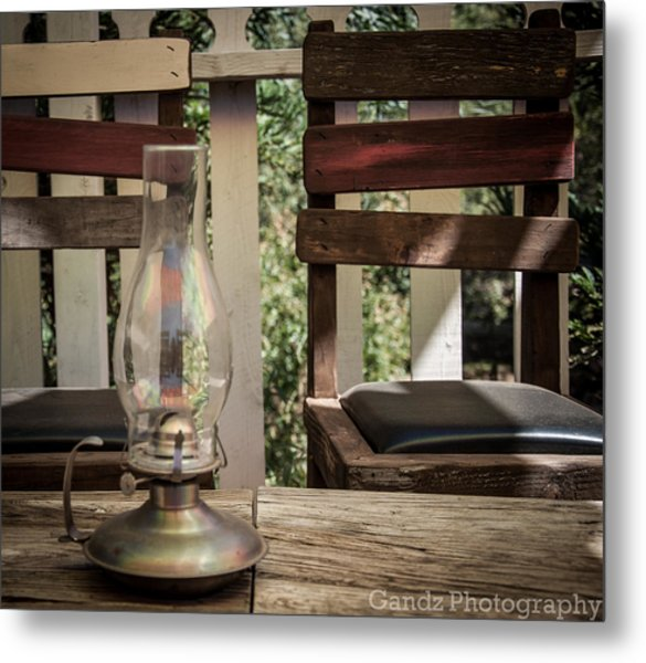 Oil Lamp 2 Metal Print