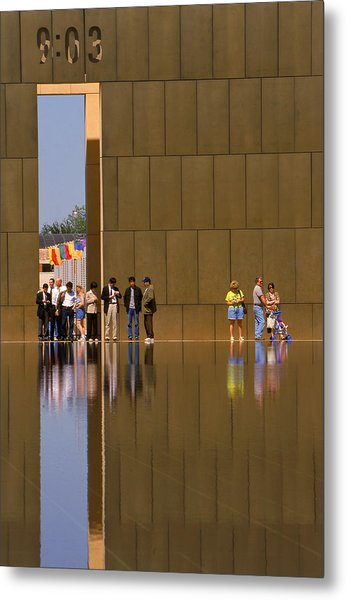 Oklahoma City Memorial Metal Print