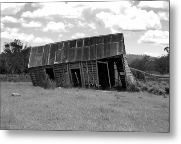 Old And Tired Metal Print by Philip Hartnett