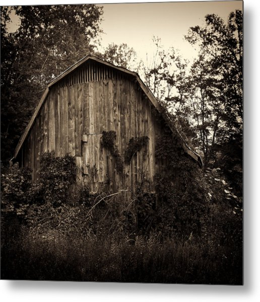 Old Barn 04 Metal Print
