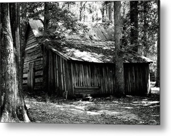 Old Barn In Georgia Metal Print
