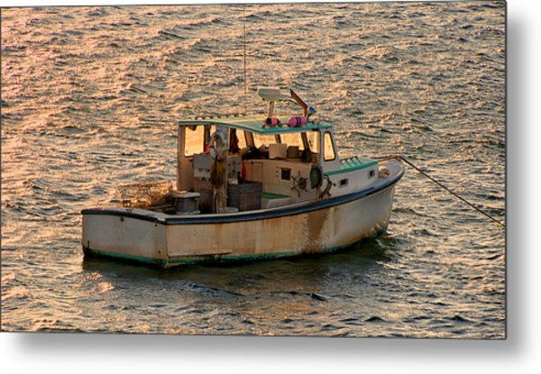 Old Boat Metal Print