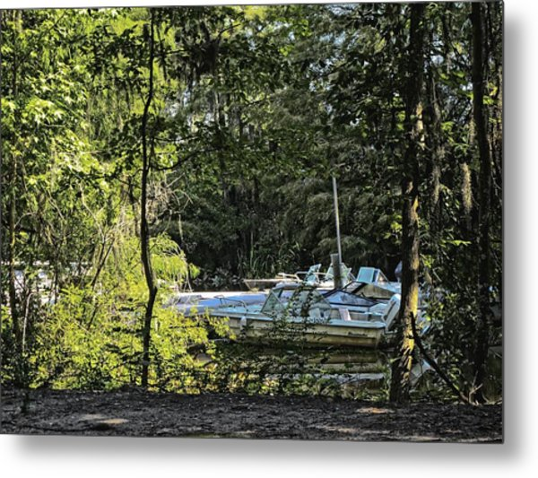 Metal Print featuring the photograph Old Boat by Ralph Jones
