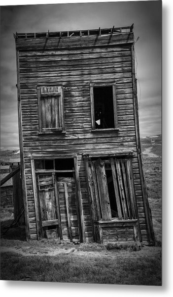 Old Bodie Building Metal Print
