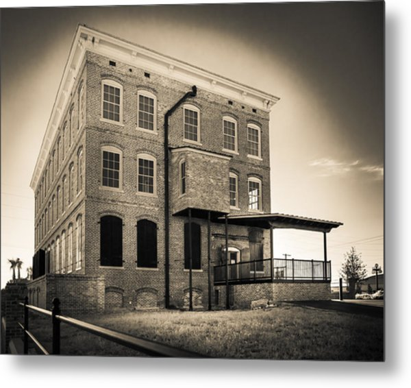 Old Cigar Factory Metal Print by Ybor Photography