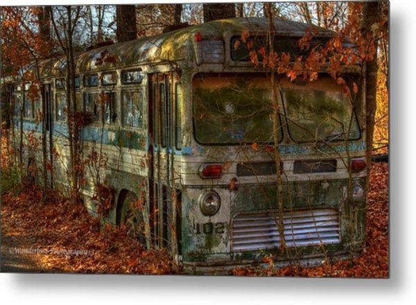 Old City Bus Metal Print by Paul Herrmann