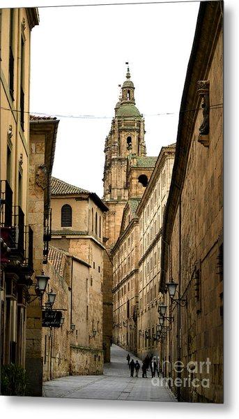 Old City Of Salamanca Spain Metal Print