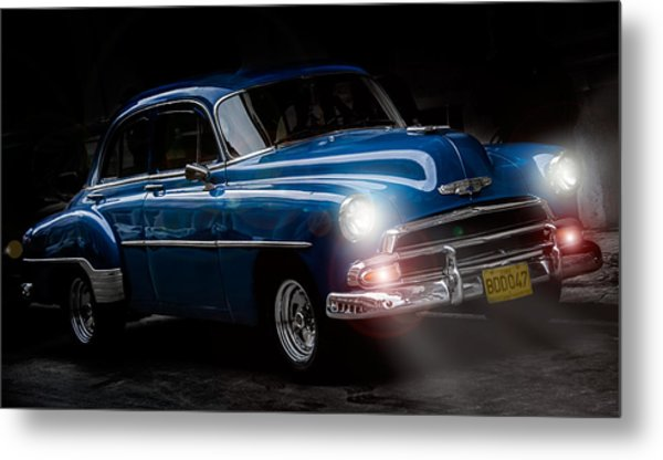 Old Classic Car I Metal Print