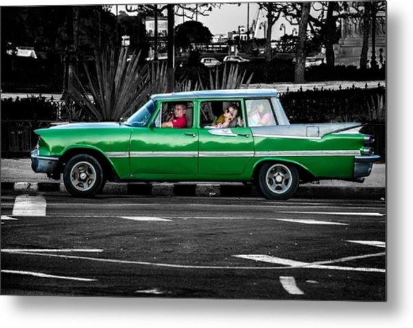 Old Classic Car II Metal Print