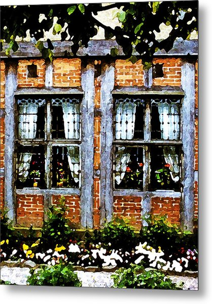 Old Country Charm Metal Print