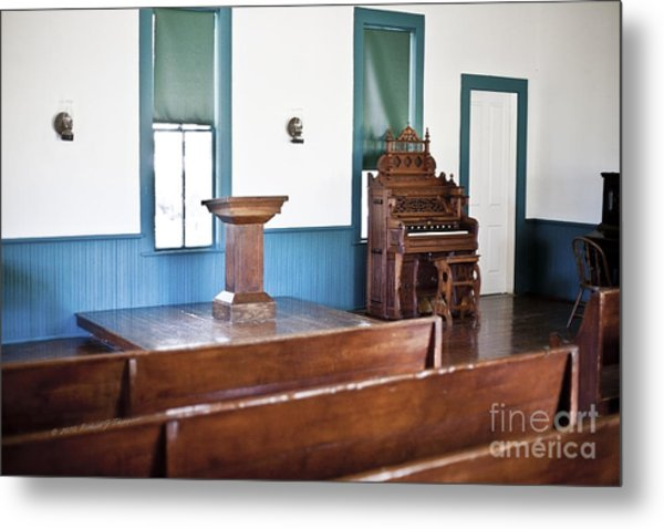 Old Country Church Metal Print