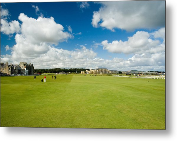 Old Course Fairways Metal Print