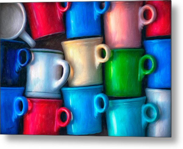 Old Cups For Sale Metal Print