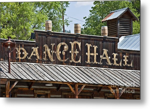 Old Dance Hall Metal Print